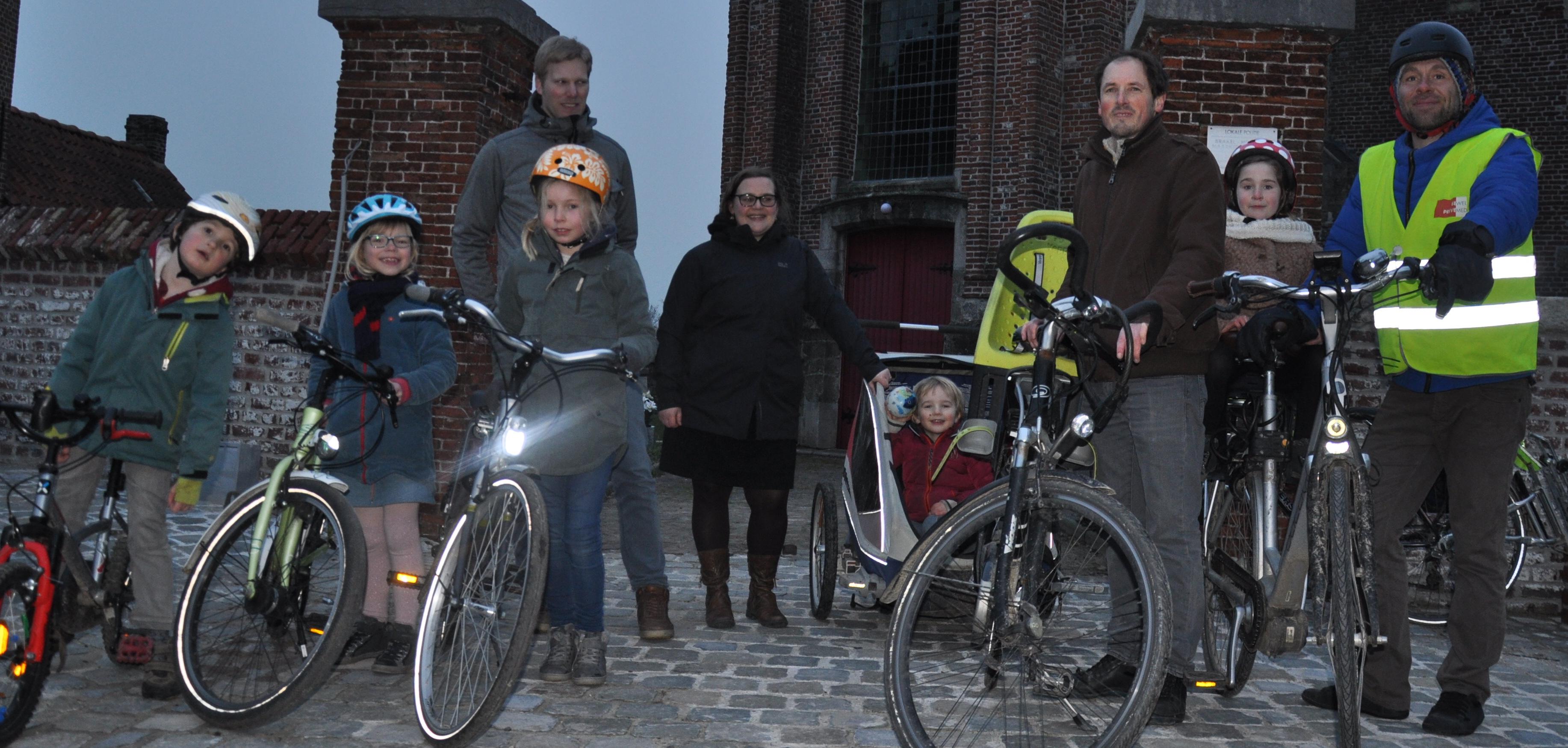 kernleden fietsersbond Zwalm