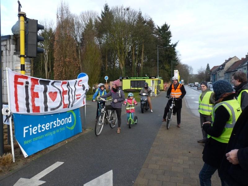 Fietsersbond Melle applaudisseert voor fietsers