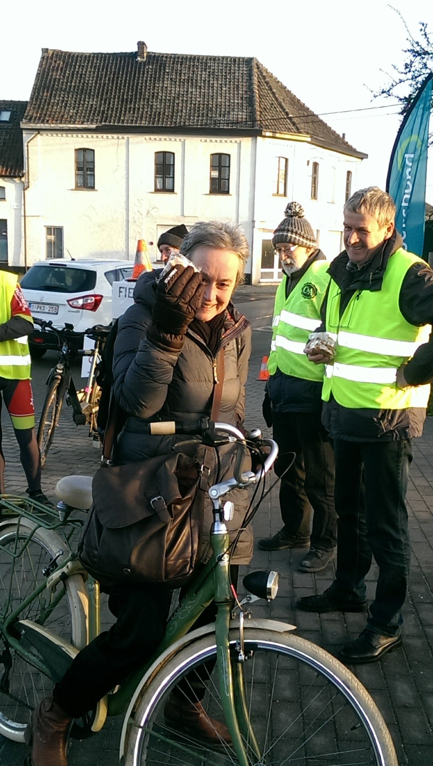 Applausactie fietsersbond Haaltert