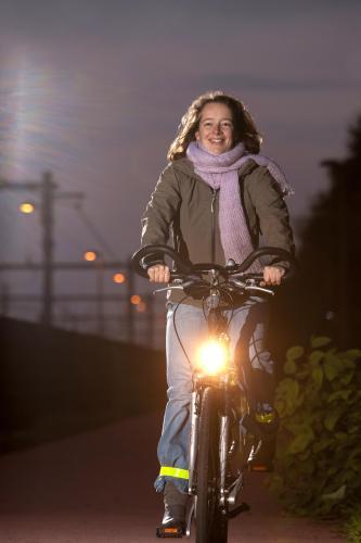 uitleg lichtejes voor fietsen in je band