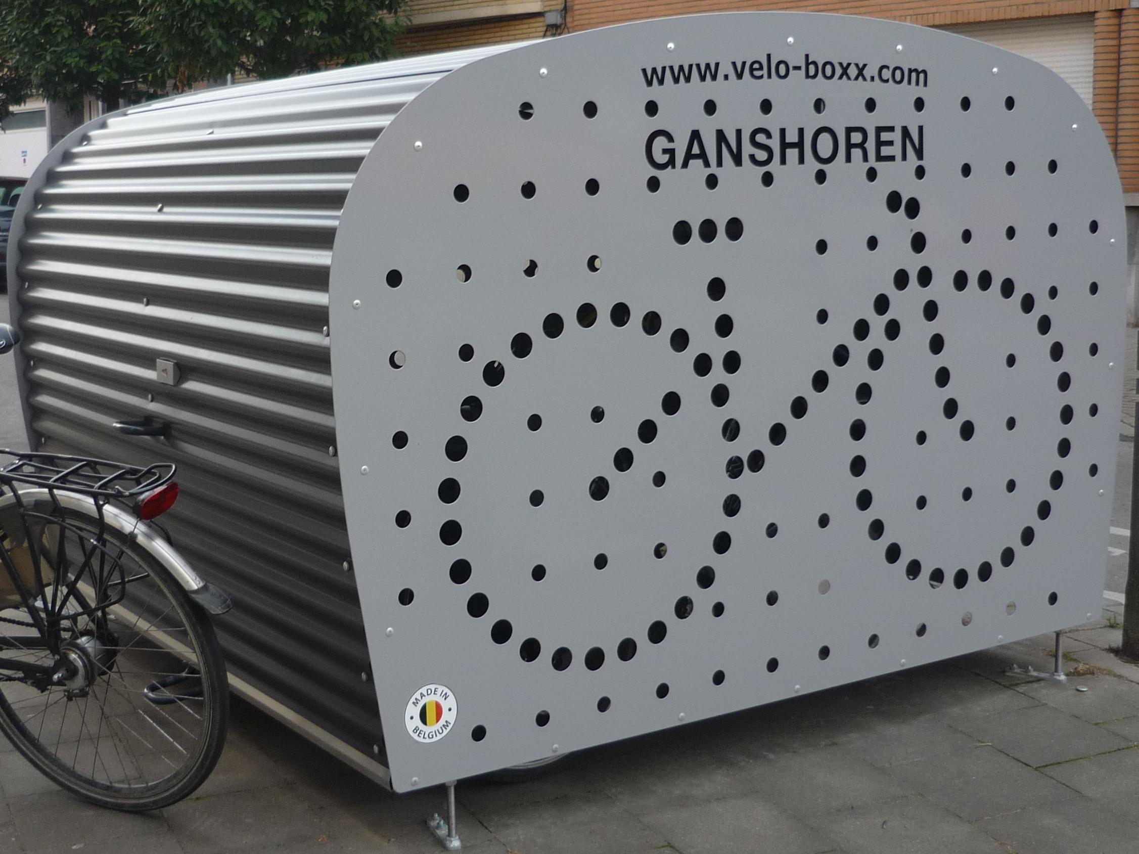 Fietsbox vélo boxx Ganshoren