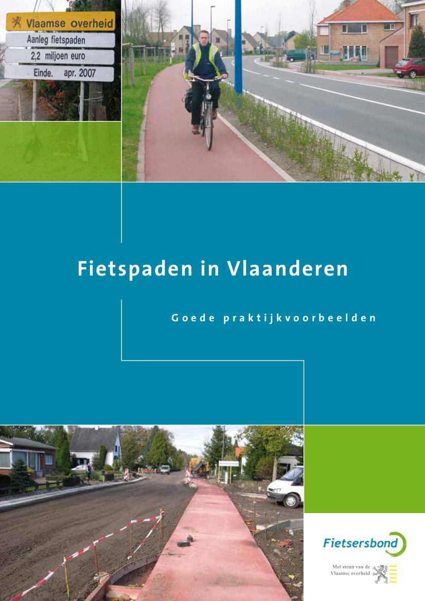 Fietspaden in Vlaanderen: goede praktijkvoorbeelden