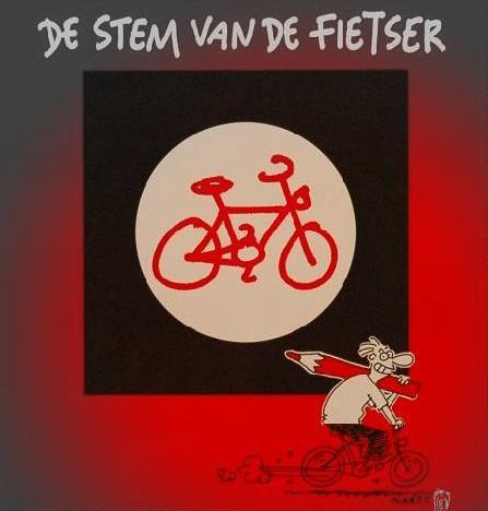 stem van de fietser