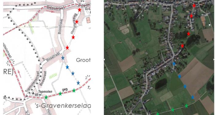 Vraag aan gemeente Haaltert: alternatief fietspad voor de Bosstraat